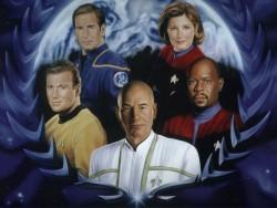 Alle Bevelhebbers van alle Star Trek Series