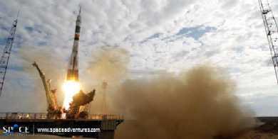 Een echte ruimtereis voor 15 miljoen euro!