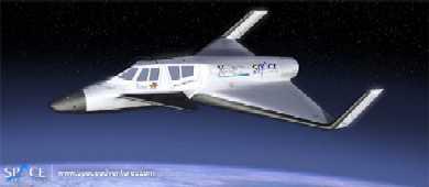 Suborbital fligt voor 79000 euro